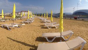 12 80 Песчаный пляж в Сочи. Какой он?