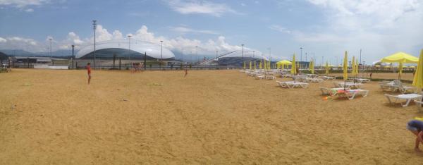 16a Песчаный пляж в Сочи. Какой он?