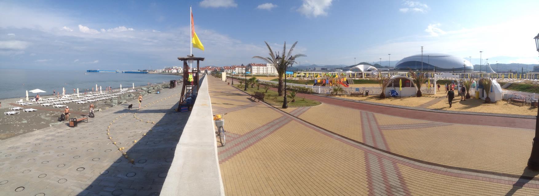 33a Песчаный пляж в Сочи. Какой он?